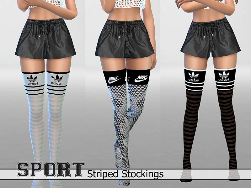 30Athletic Striped Stockings Pack