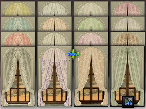 4 curtains