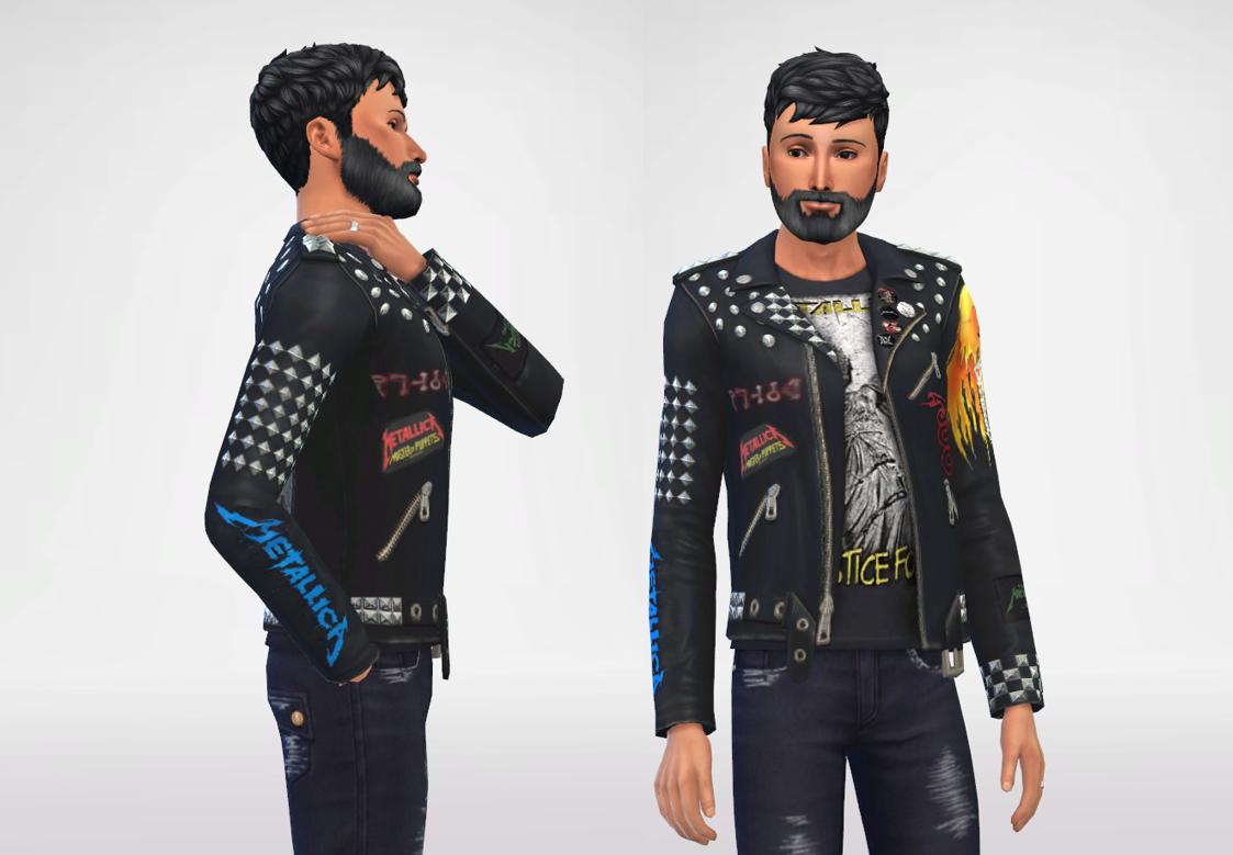Metallica Leather Jacket - Updated