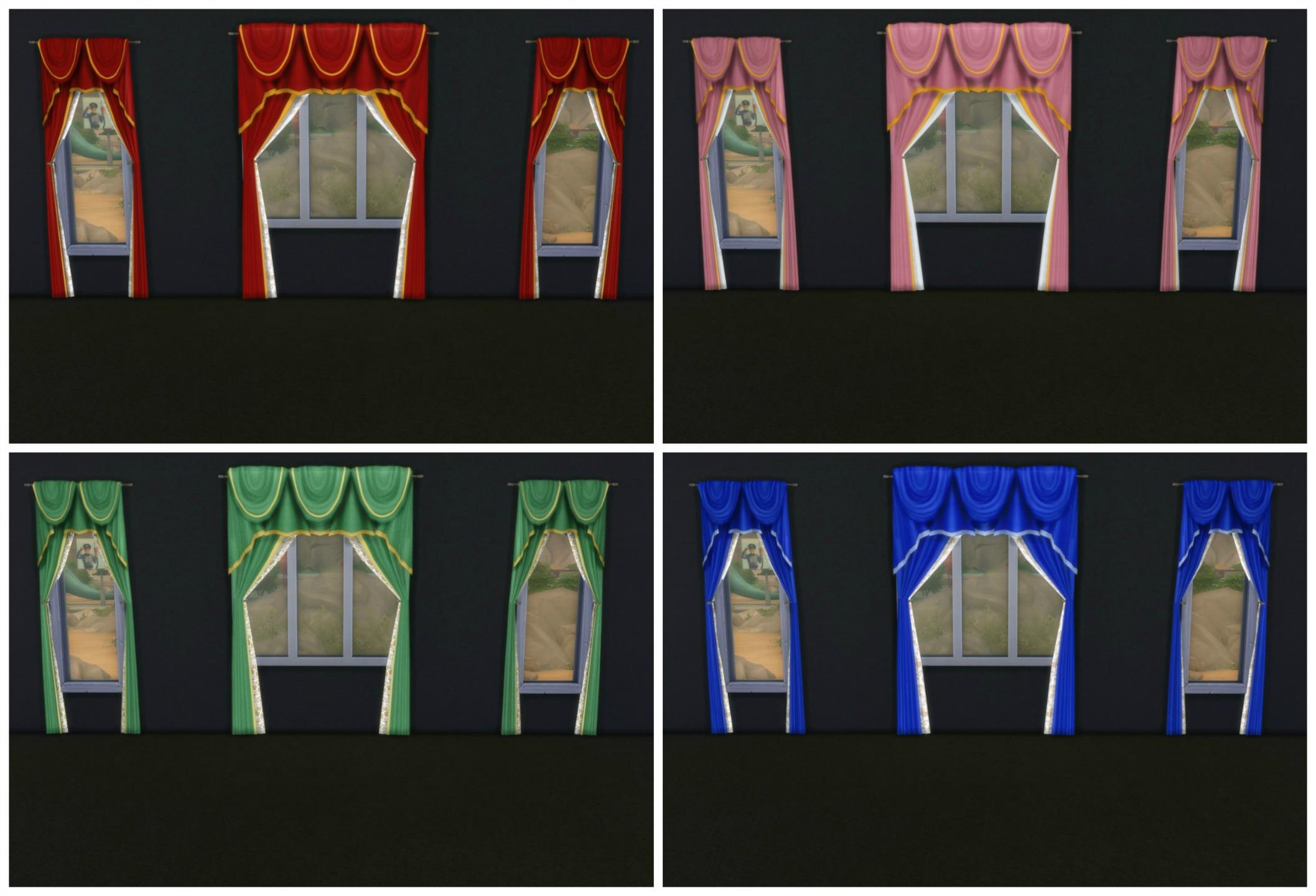 TS2 to TS4 - 12 Curtains