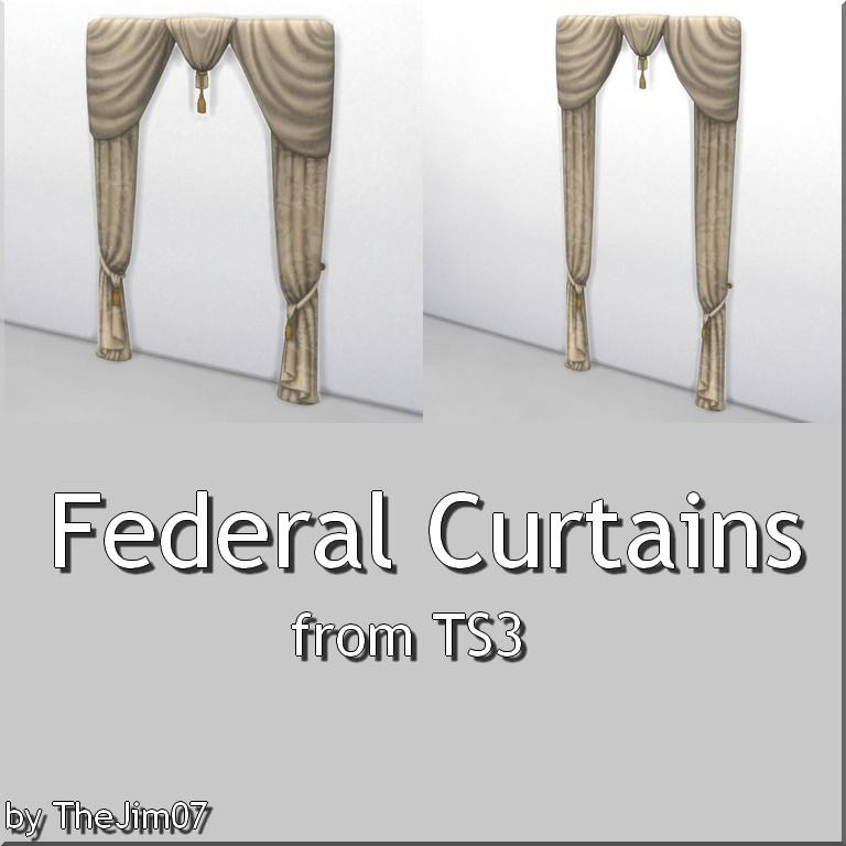 Federal Curtains from TS3