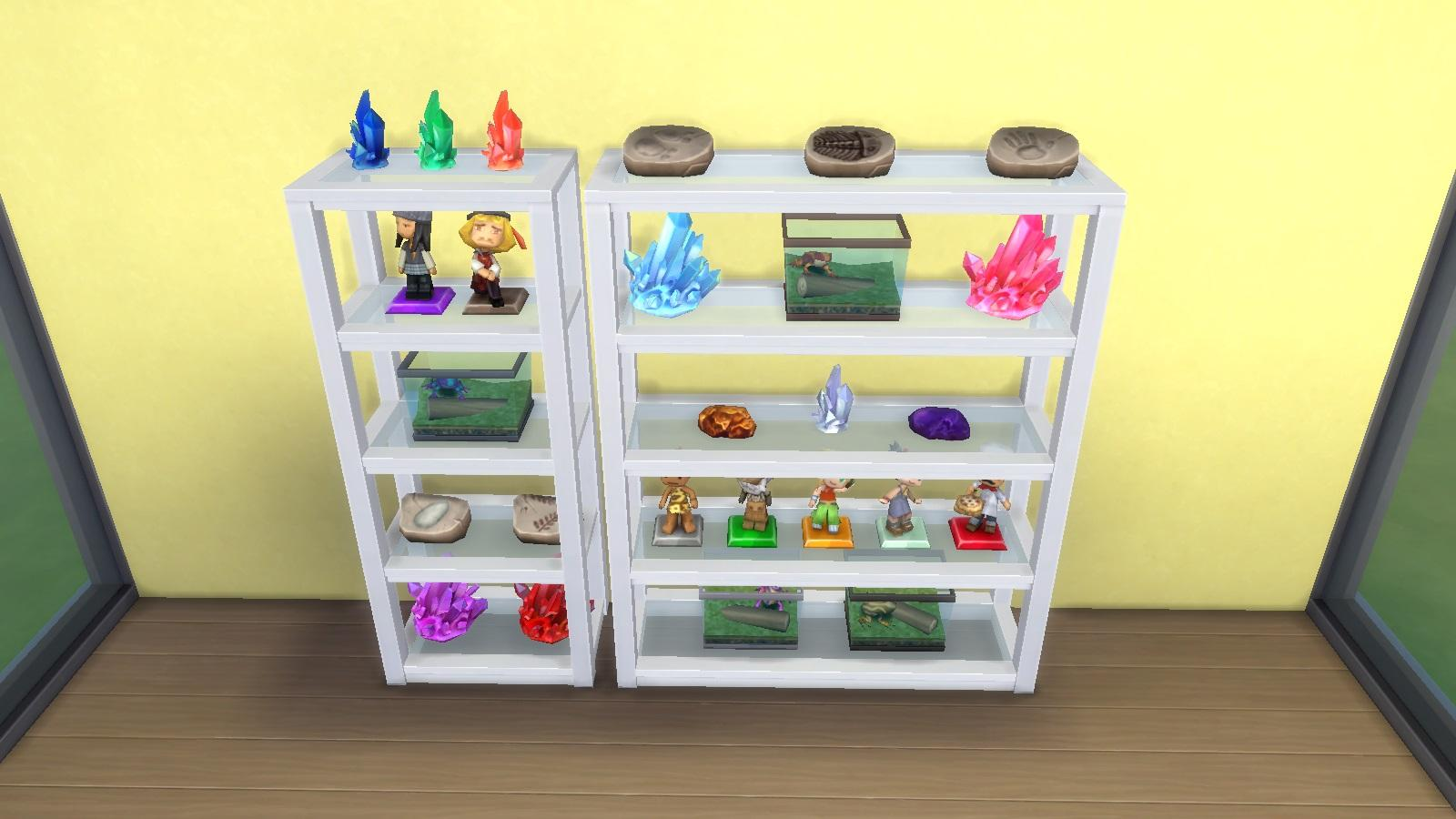 Grand Designs Collectible Shelf - Maxis Match