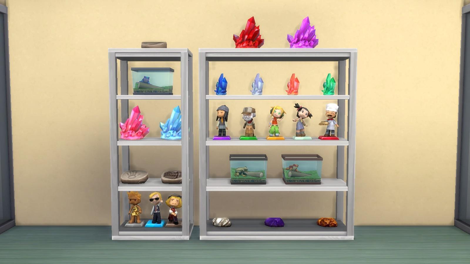 Simplicity Collectible Shelf - Maxis Match