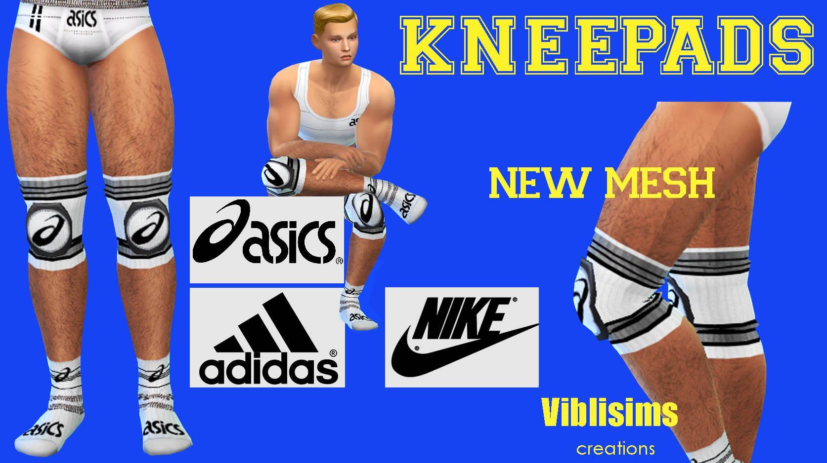 KNEEPADS. Adidas, Asics and Nike