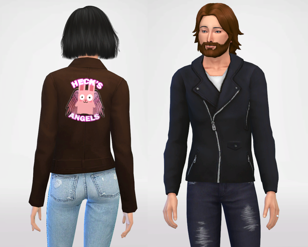 Leather jackets (Male and female)