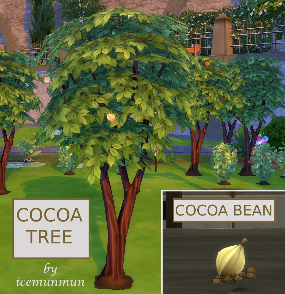 Harvestable Cocoa Bean + Optional-Recipes require Cocoa Bean Override [Update (16th Oct 2019)]
