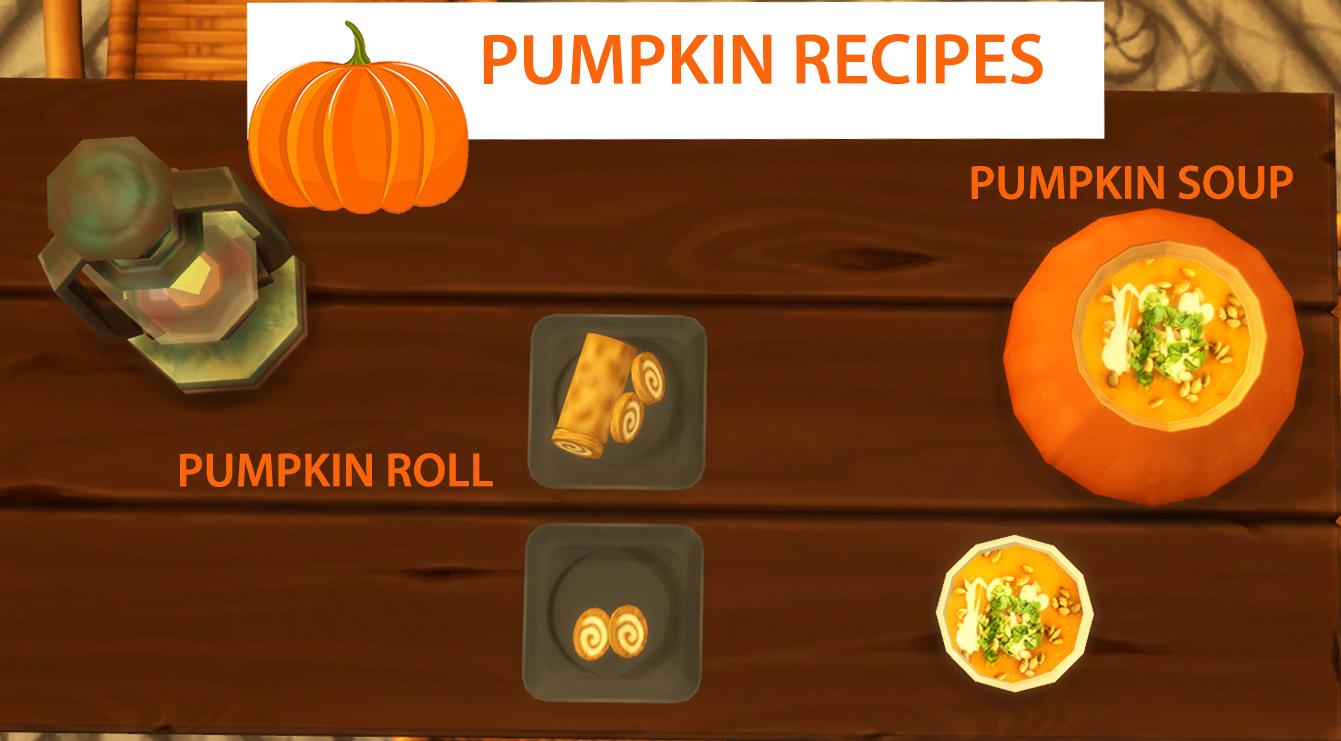 Pumpkin Recipes - Soup and Roll (Update - 14.12.2019)
