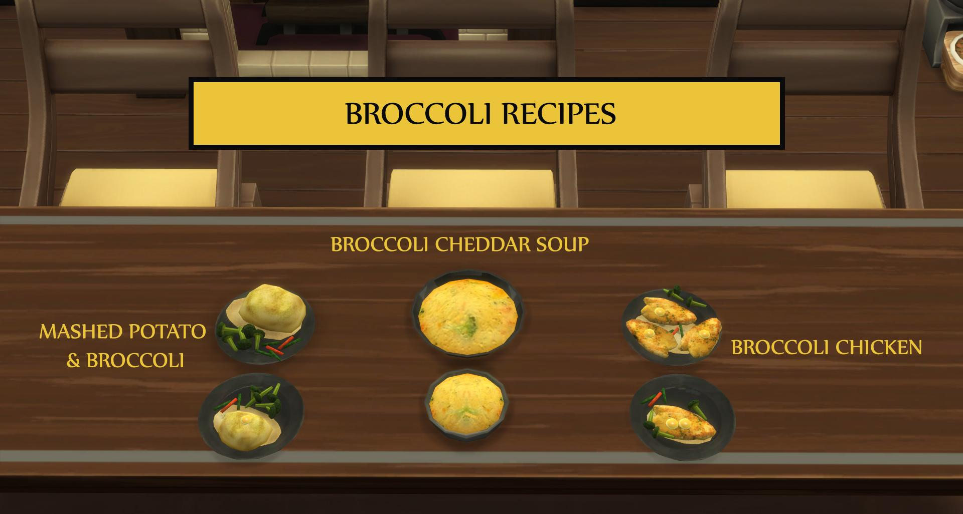 Broccoli Recipes - Mashed Potato, Chicken and Cheddar Soup (Update - 14.12.2019)