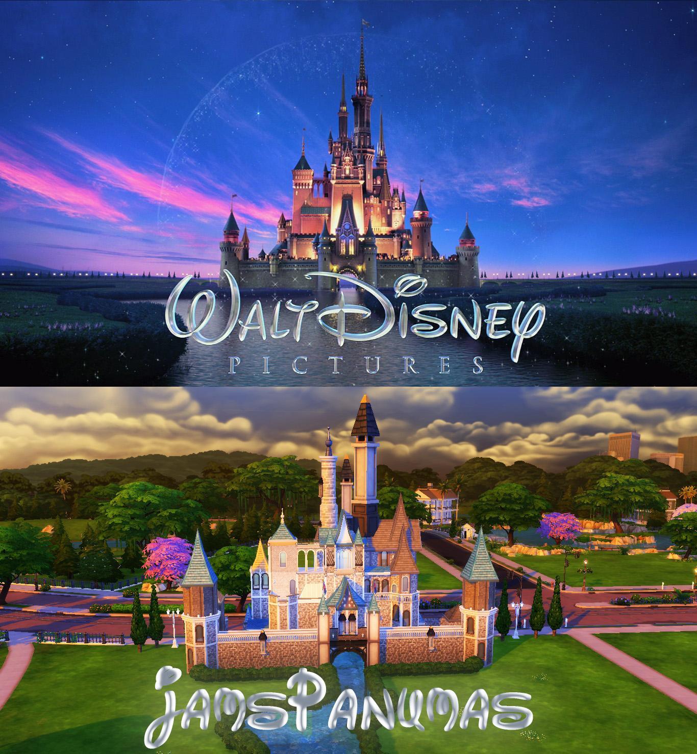 Disney Castle (No CC!)