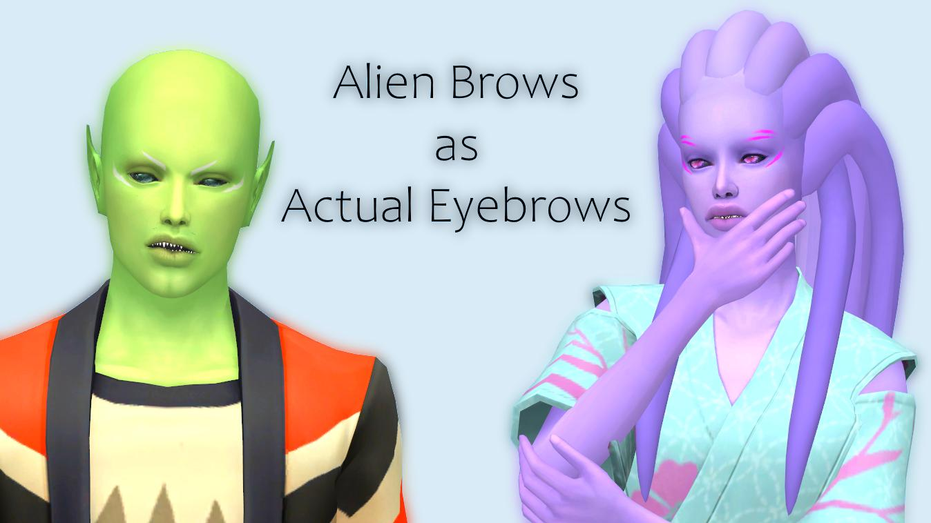 alien brows