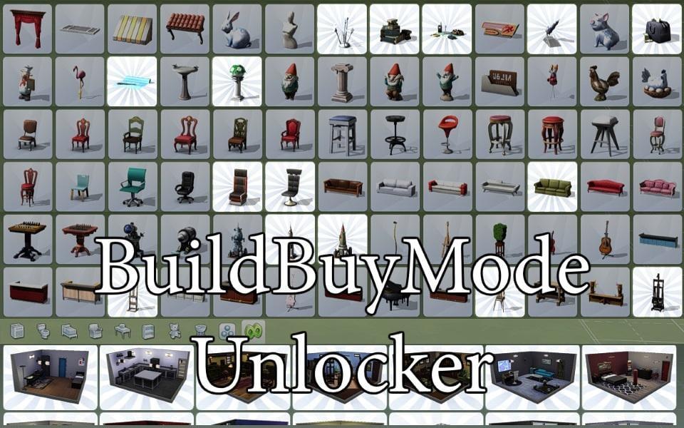 BuildBuyMode Unlocker