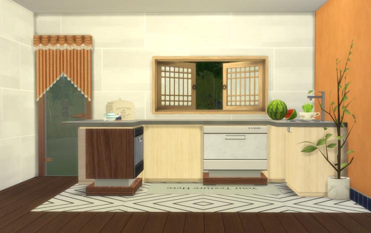 Wooden Dishwasher