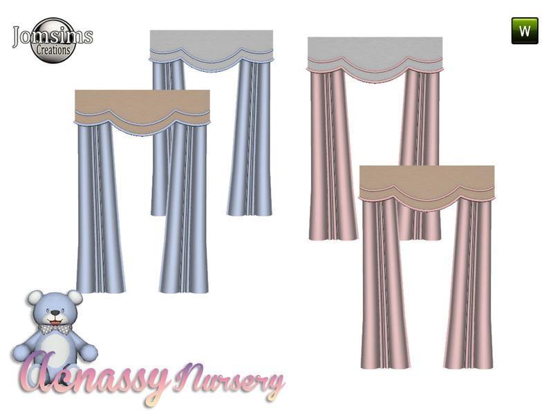 acnassy nursery curtains