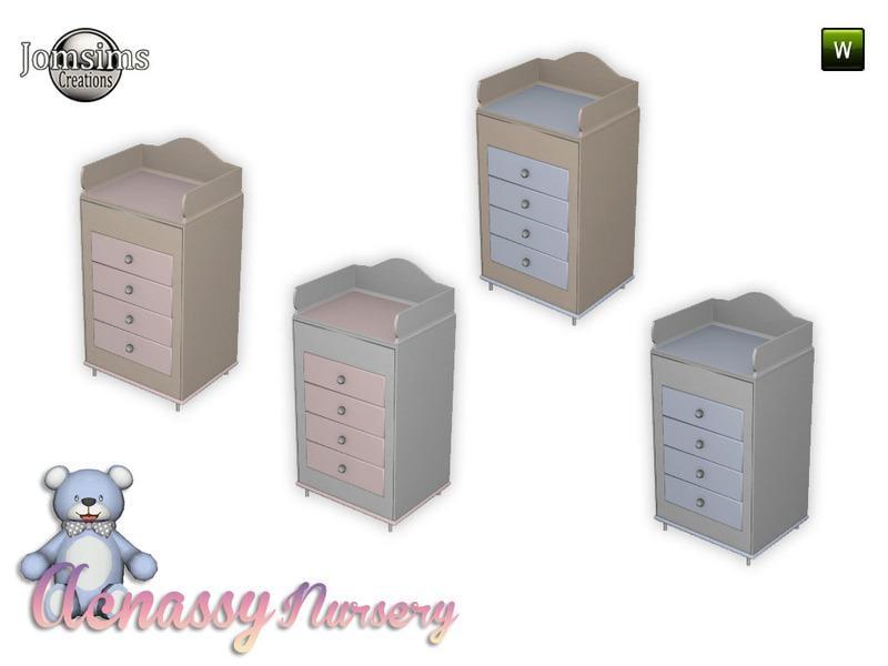 acnassy nursery deco furniture