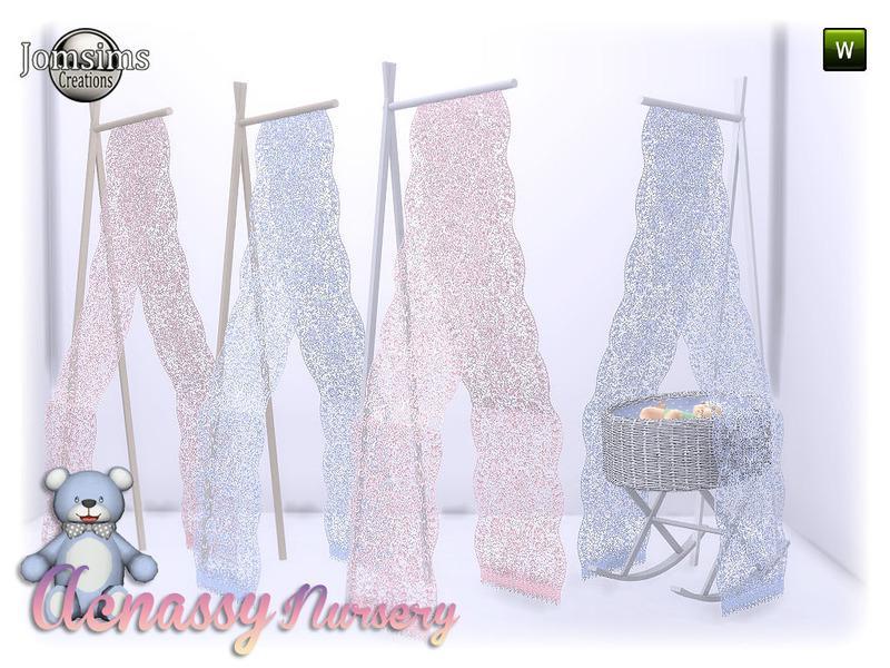 acnassy nursery deco part 2 crib