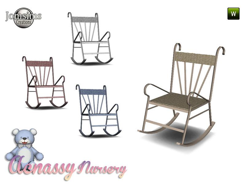acnassy nursery living rocking chair