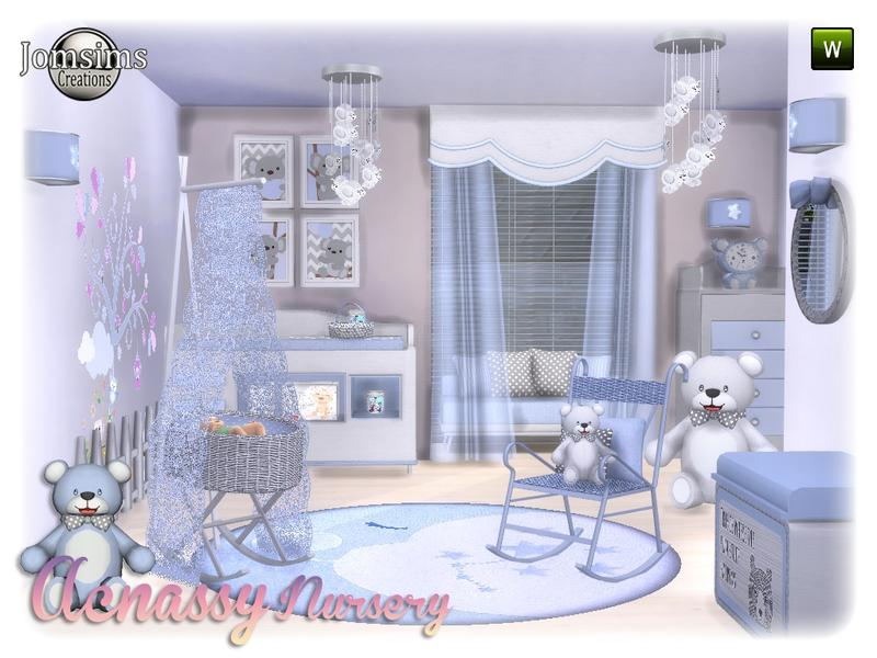 acnassy nursery-Needs Mod for Crib