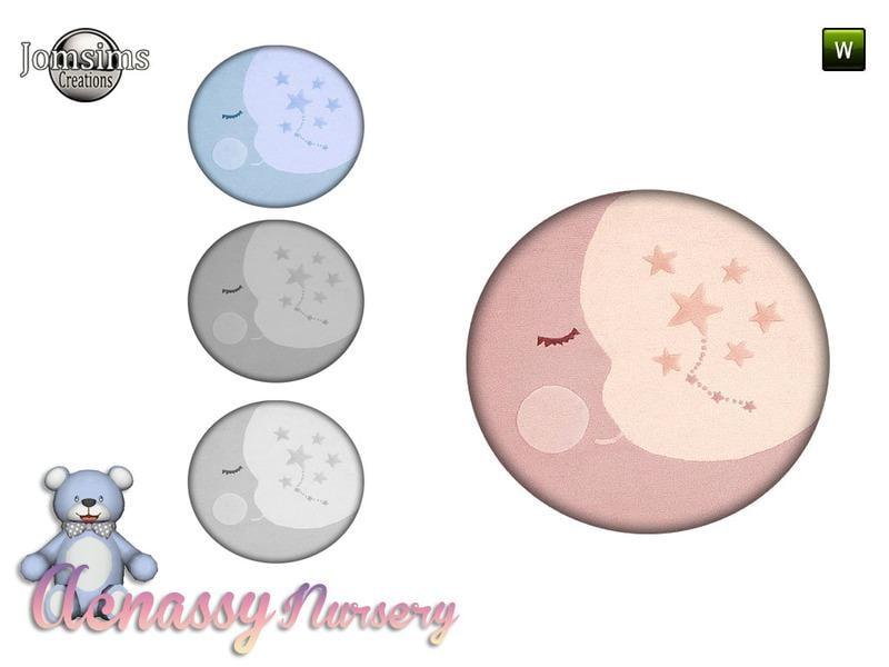 acnassy nursery rug