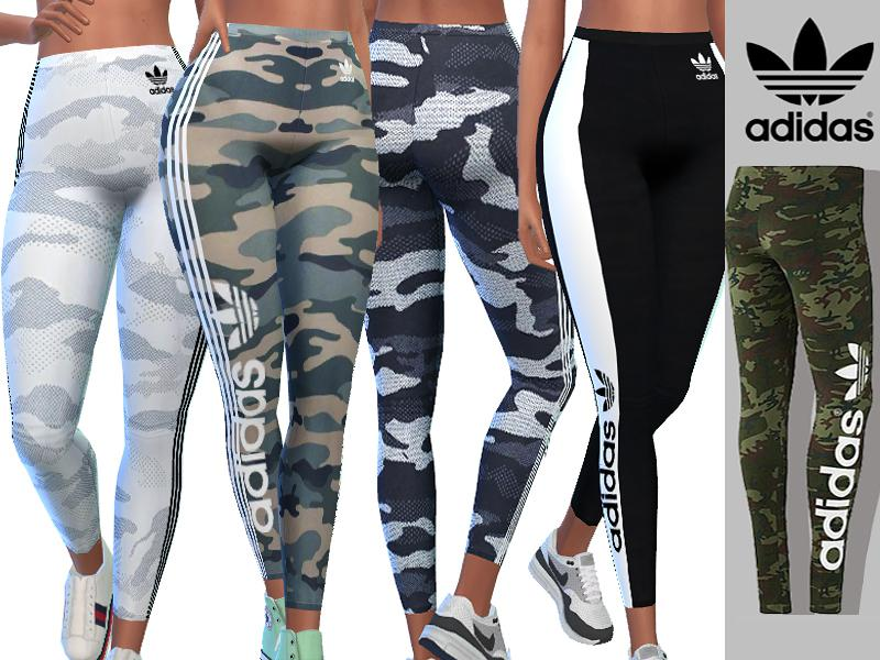 Adidas Camo Athletic Pants