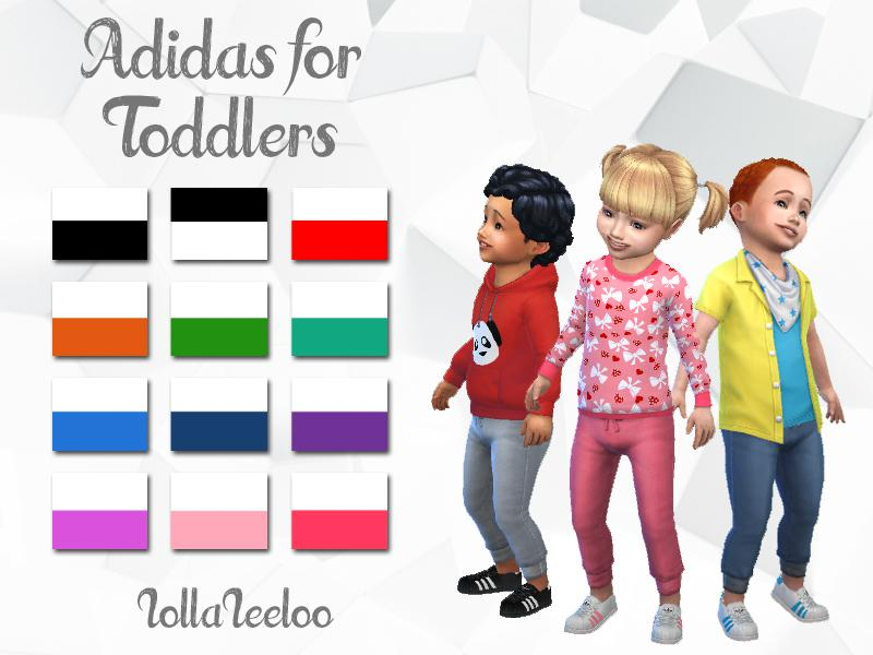 Adidas Shoes for Toddlers by LollaLeeloo