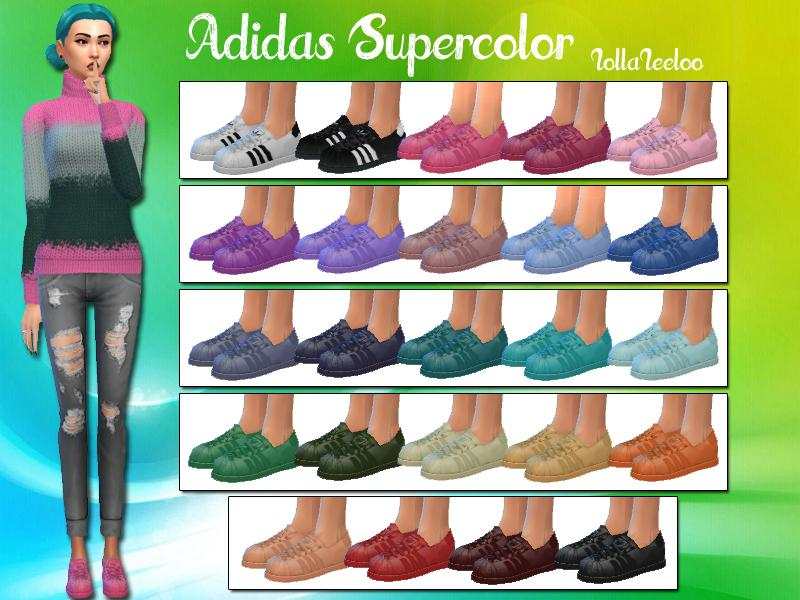Adidas Supercolor by LollaLeeloo