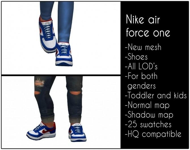 Air force one sneakers for kids and toddlers