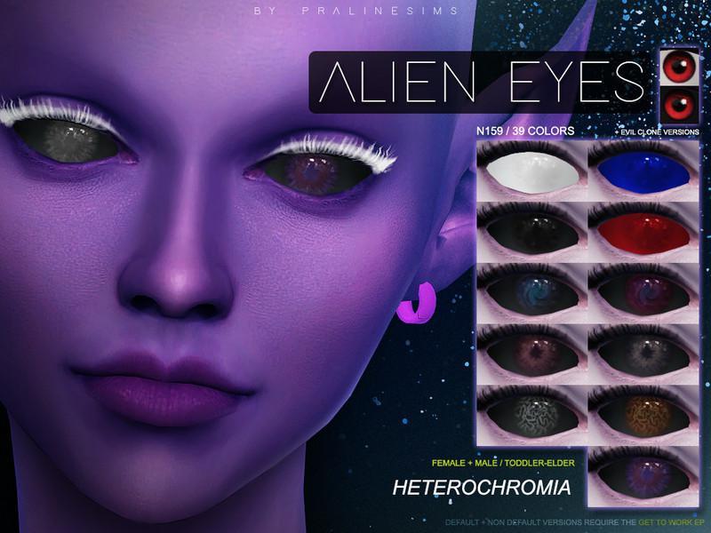 Alien Eyes N159 Heterochromia