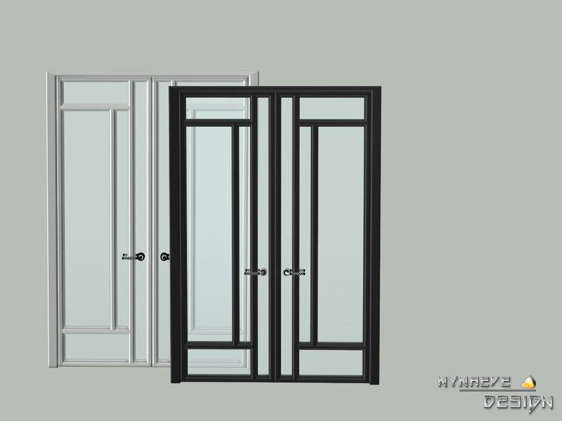 Altara Double Glass Door