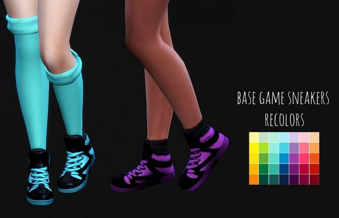 Base Game Sneakers Recolors