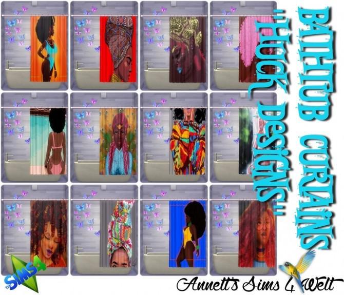 Bathtub Curtains Huck Designs