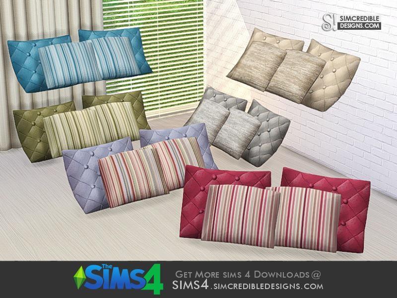 Cassis pillows