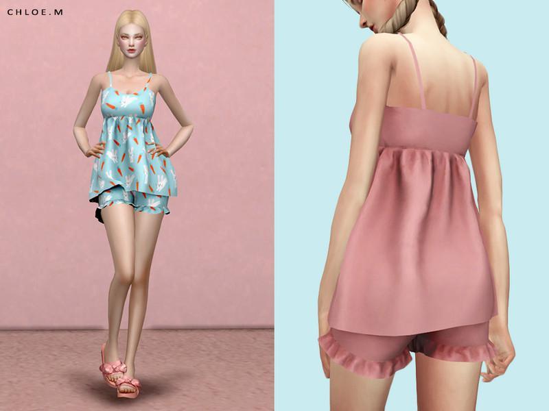 ChloeM-Cute Pajama 02
