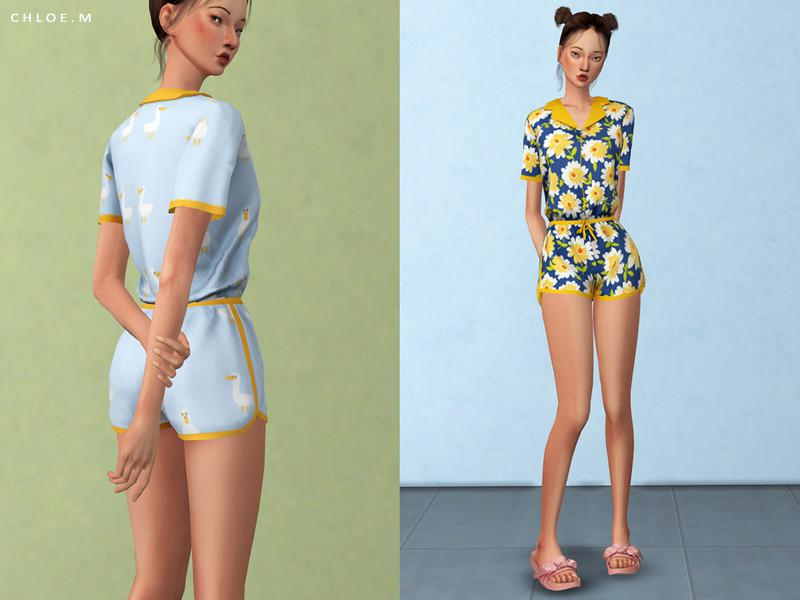 ChloeM-Cute Pajama Bottom
