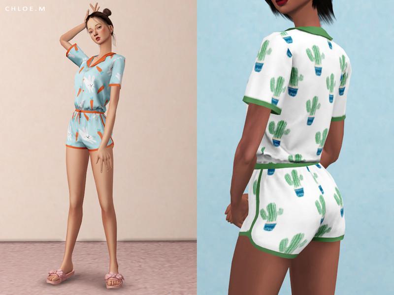 ChloeM-Cute Pajama Set