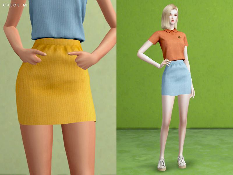ChloeM-Short skirt