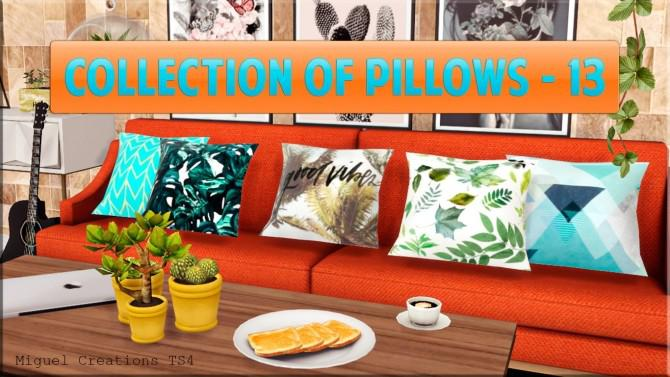 Collection of Pillows 13