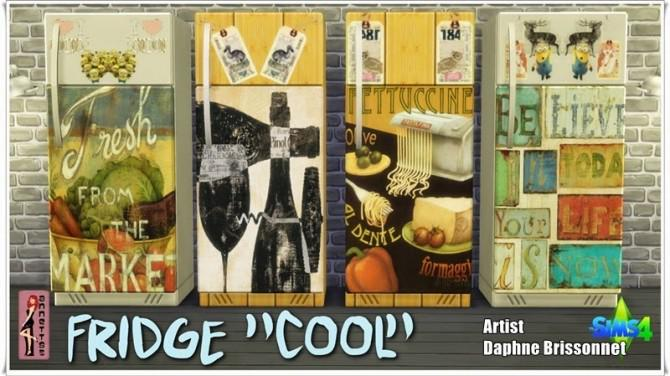 Cool Fridge & Kitchen Pictures