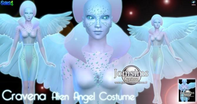 alien angel costume