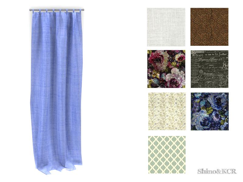 Curtains and Canopy's - Curtain Solid Prints left