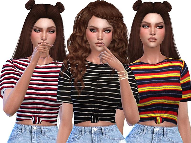 Cute Striped T-shirts Collection