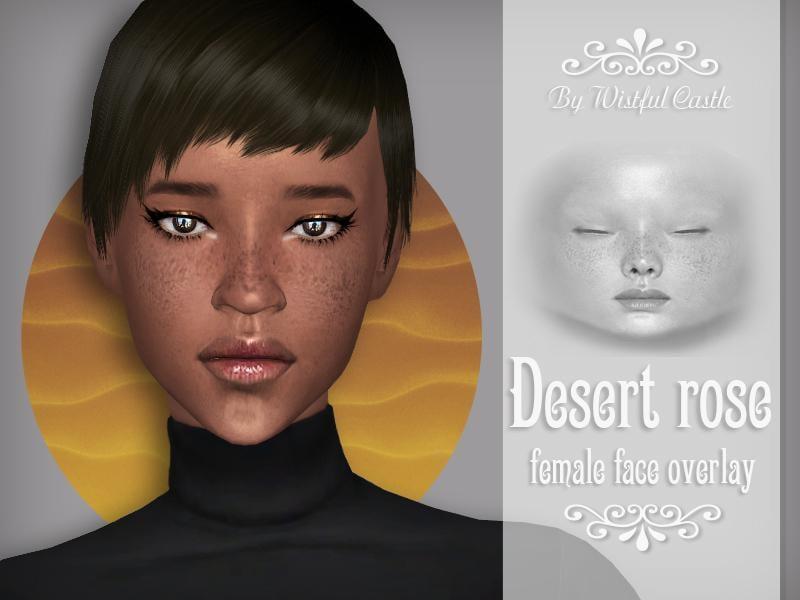 Desert Rose - face overlay