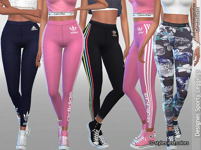 Designer Sporty Leggings Collection 01