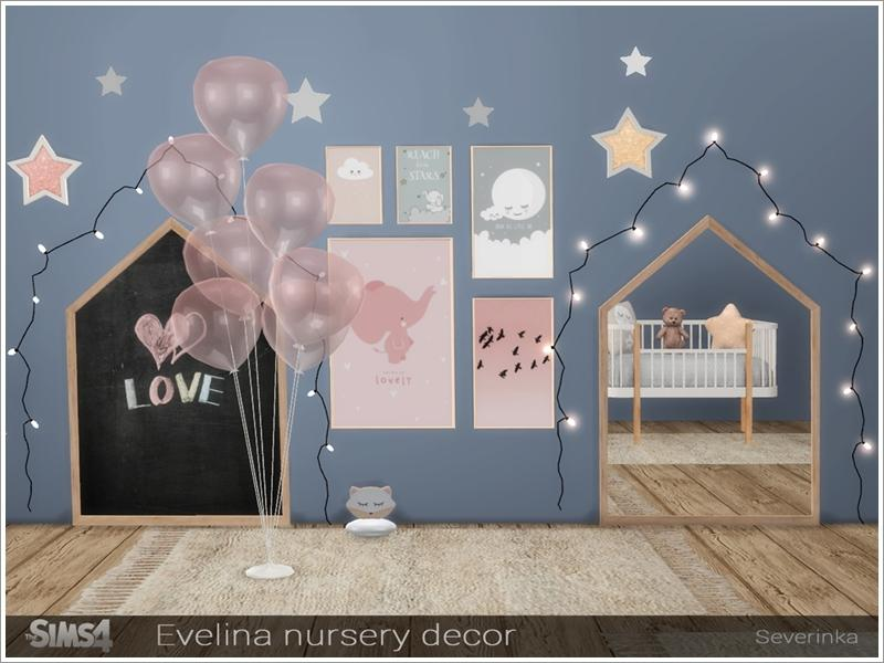 Evelina nursery decor