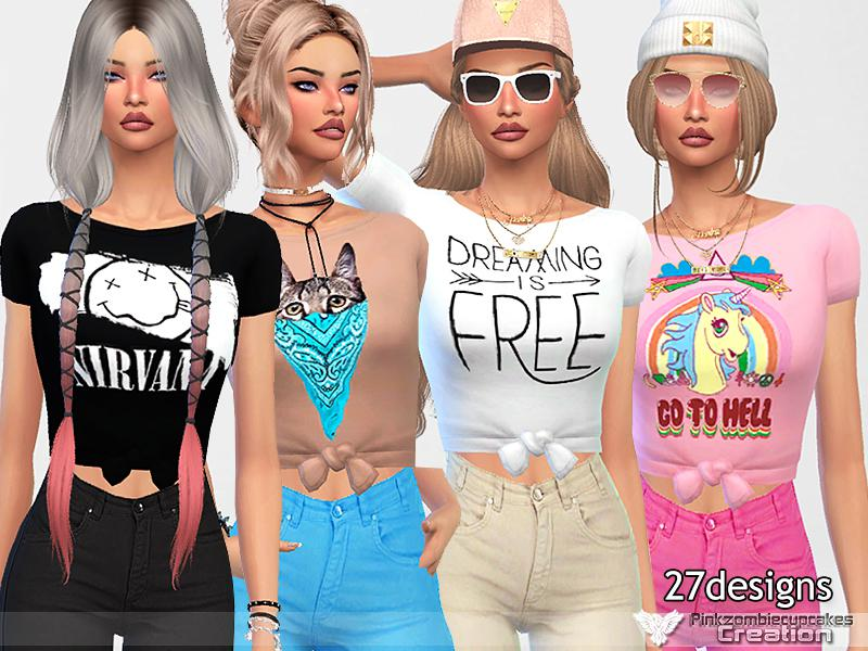 Everyday Cute Tops Collection 02