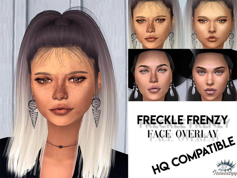 Freckle Frenzy Face Overlay V2