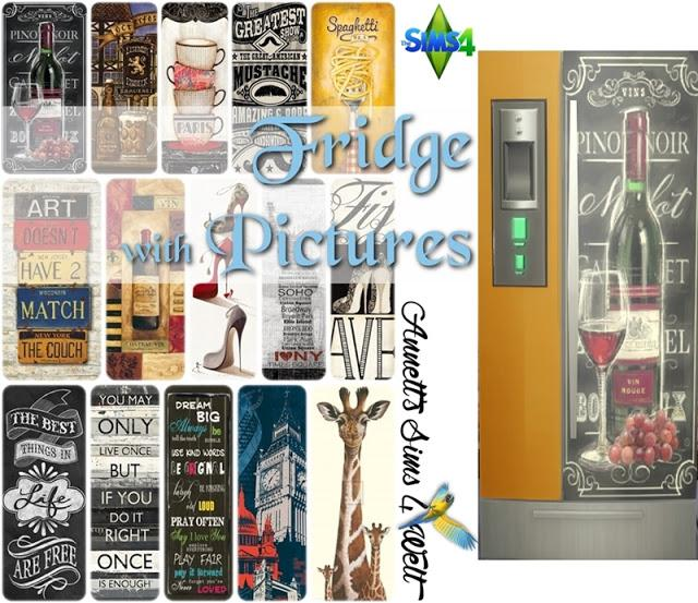 Fridge with Pictures