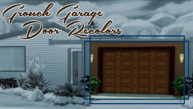 Garage Door Mods You Need To See Snootysims
