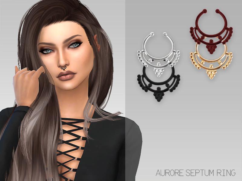 GrafitySims - Aurore Septum Ring