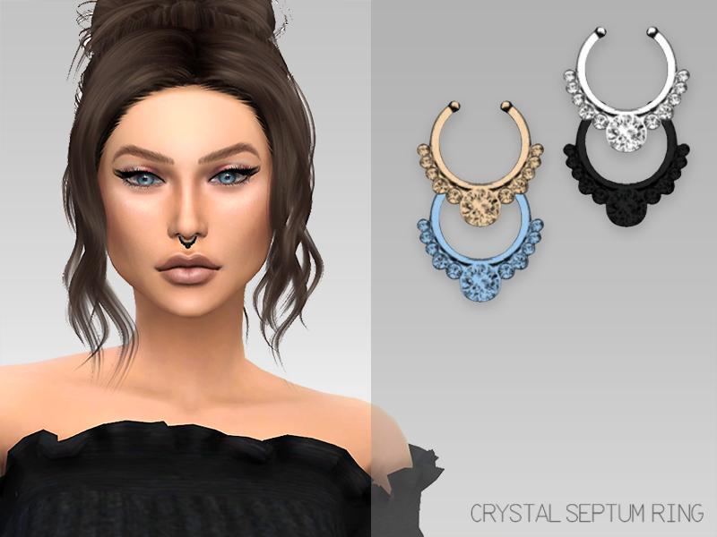 GrafitySims - Crystal Septum Ring