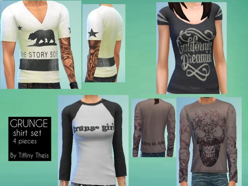 Grunge Shirt Set